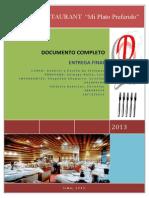 Sistema de Gestión de Un Restaurante_final