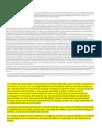 Analisis de La Influencia de Los Periodicos