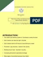 TNGDA - Pay Demand for Tamil Nadu Government Doctors 2009