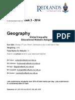 geo website task 2014 b