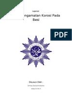 Laporan Pengamatan Korosi (Dhimazt)