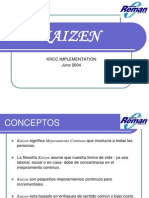 Kaizen - Implementacion (1)