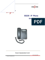 ES220 IPPhone Manuale Inglese