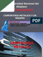118610216 Carpinteria Metalica y en Madera