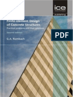Finite-element Design of Concrete Structures, 2nd Rombach