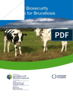 Biosecurity Guidance for Brucellosis