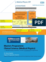 Medical Physics STP Programme