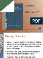 Mishkin Ch 03 what is money?