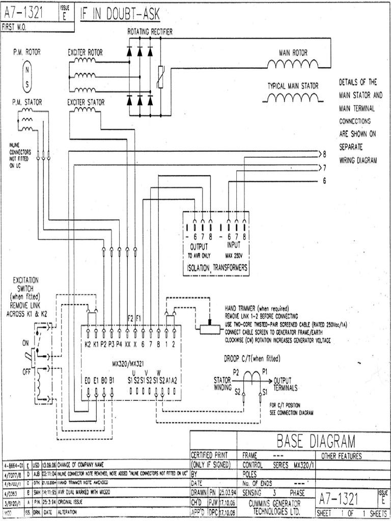 Catalog_files_Products_Newage_MX320 MX321 Newage Voltage Regulator Wiring  DiagramScribd