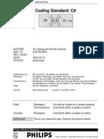 Philips Coding Standard - C#