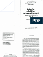 Istoria Relatiilor Internationale 1948 Pana in Zilele Noastre Vol 2