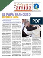 EL AMIGO DE LA FAMILIA domingo 1 junio 2014.