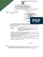 Surat Undangan Klarifikasi ULP 2014