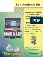 Water & Soil Analysis Kit