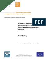 Развитие и побочные эффекты денежных переводов мигрантов в странах СНГ: Украина