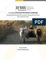 India- The Base of Pyramid Distribution Challenge-IfMR(3)