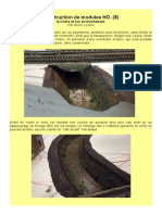 MODÉLISME FERROVIAIRE  à l'échelle HO. (8) Construction de modules HO. (8) la rivière et son environnement. Par Hervé Leclère