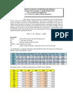 Casos 3 y 4 Beta Costo de Capital y WACC
