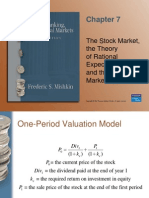 Rational Expectation and Efficient Market
