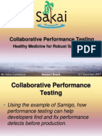 Load Testing Collaboration