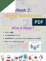 5th grade - week 2 mixing substances - ppt