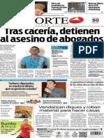Periódico Norte edición impresa del día 30 de mayo del 2014
