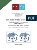 Dimensionamento de Sistemas Fotovoltaicos
