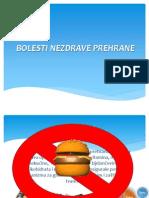 BOLESTI NEZDRAVE PREHRANE
