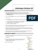 Oefeningen Windows XP
