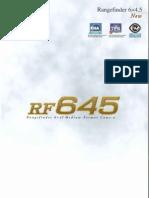 Bronica RF645 Brochure