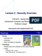 Cse497b Lecture 2 Overview