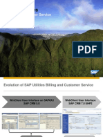 SAP New CRM&Billing for Utilities