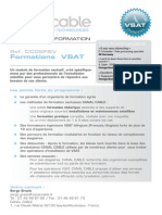 CanalCable Formations VSAT Fev09
