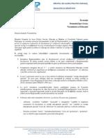 Aviz CNP 170513 Reglementari Privind Sustinerea Examenelor Bac Copii Ces