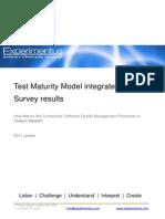 Test Maturity Model - Whitepaper