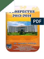 St.joseph's Prospectus