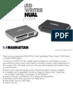 Multi-card Reader/Writer User Manual