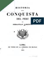 L - Historia de La Conquista Del Perú
