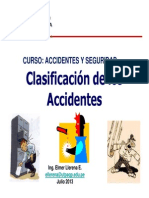 Clasificacion de Accidentes