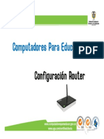 Capacitacion Configuracion Router