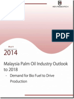 Malaysia Palm Oil Industry Outlook to 2018 – Demand for Biofuel to Drive Production