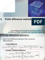 6 Finite Difference Methods