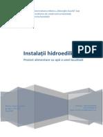 Proiect hidroedilitare