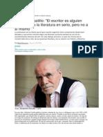 Hugo Baccacece. Entrevista a Abelardo Castillo.