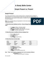 Verb Tenses-Simple Pres vs Pres Prog-09