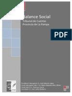 Balance Social 2012 La Pampa