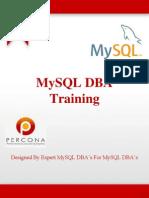 MySQL DBA Syllabus