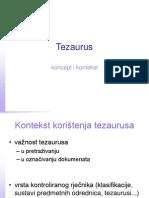 tezaurusi