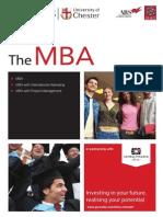 MBA (University of Chester)