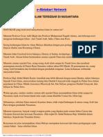 Cara Islam Tersebar Di Nusantara